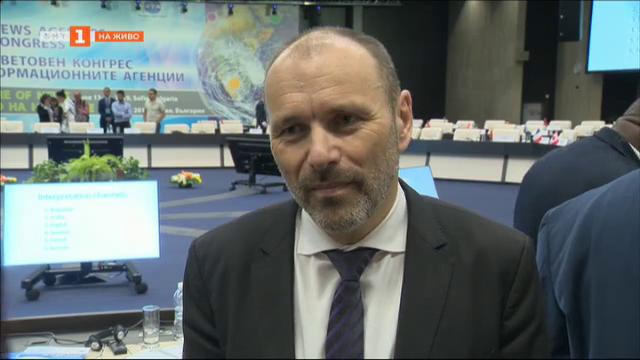 Петер Кропш: Ролята на медиите е да се справят с фалшивите новини