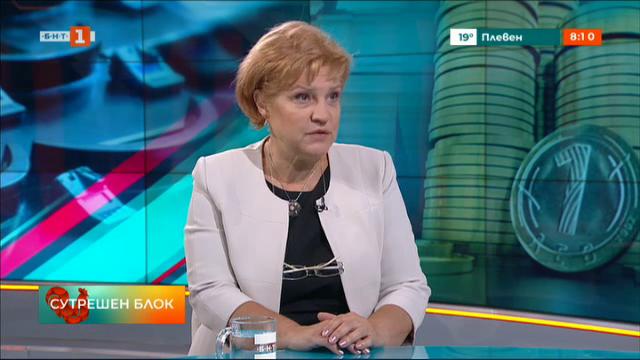 ГЕРБ и партийната субсидия - говори Менда Стоянова