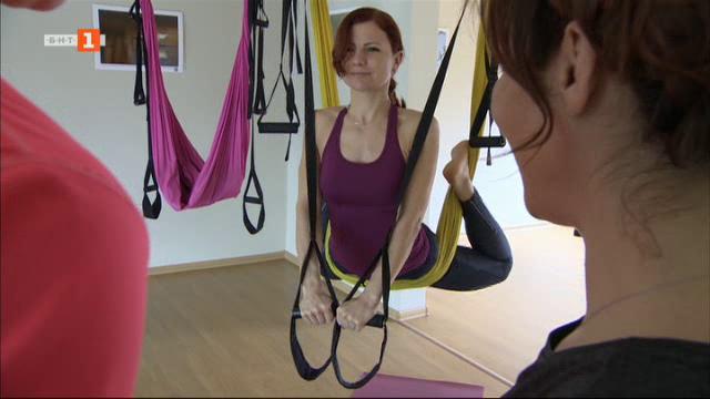 Най-доброто от 100% будни: Ползите от въздушната йога