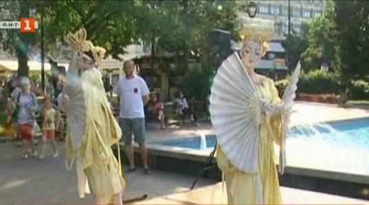 Международен фестивал Живи статуи в Русе