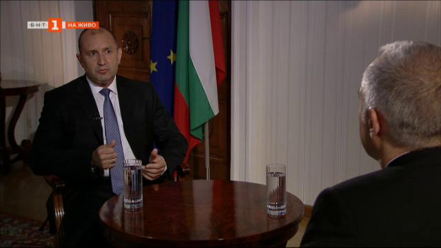 България: въпроси и позиции – президентът Румен Радев в специално интервю