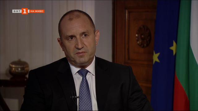 Президентът Румен Радев в специално интервю за Панорама