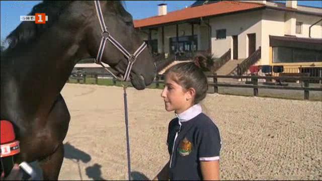 Ая Митева с исторически успех за българския конен спорт