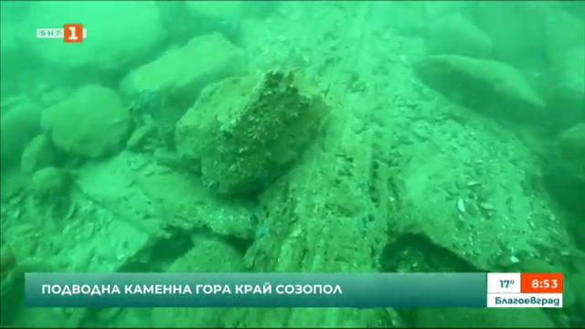 Проучват подводна каменна гора край Созопол