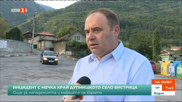 Инцидент с мечка край дупнишкото село Бистрица
