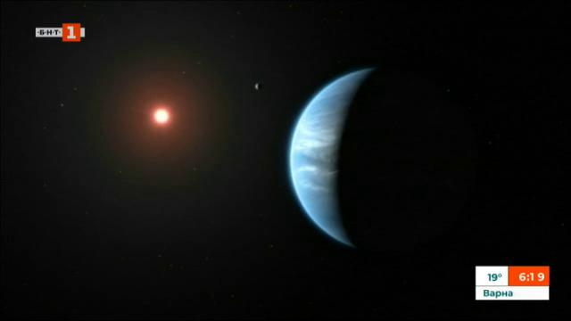 Учени откриха вода в атмосферата на далечна планета