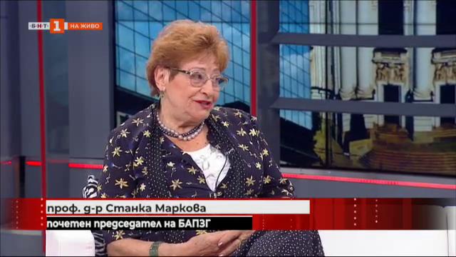 Медицински сестри на протест - разговор с проф. Станка Маркова