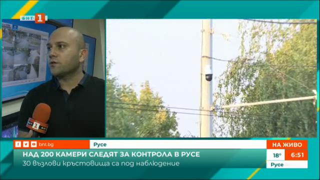 Над 200 камери следят за контрола в Русе