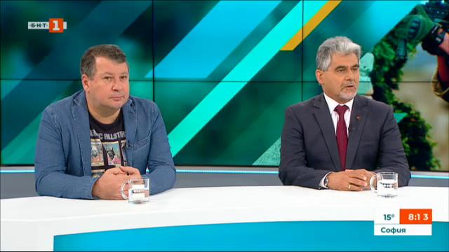 За или против казармата - коментират Милен Михов и Едуард Папазян