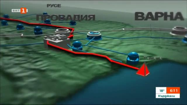 Реализацията на проекта Турски поток започва от днес