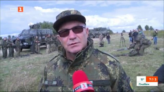 България участва в мащабното учение на НАТО в Украйна