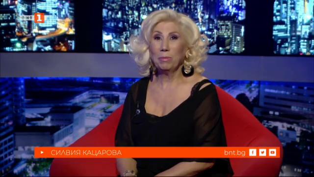 Силвия Кацарова в БНТ на 60
