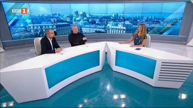 Какъв е тонът на предизборната кампания? Харалан Александров и Първан Симеонов