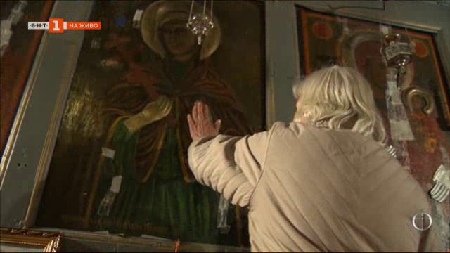 Чудотворните образи: Иконите на света Петка от църквата ѝ в Трън