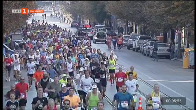 На живо от Софийския маратон