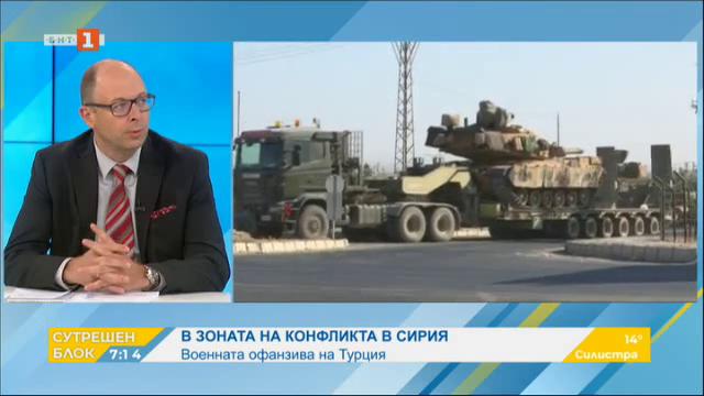 Военната офанзива на Турция в Сирия. Анализ на Йордан Божилов