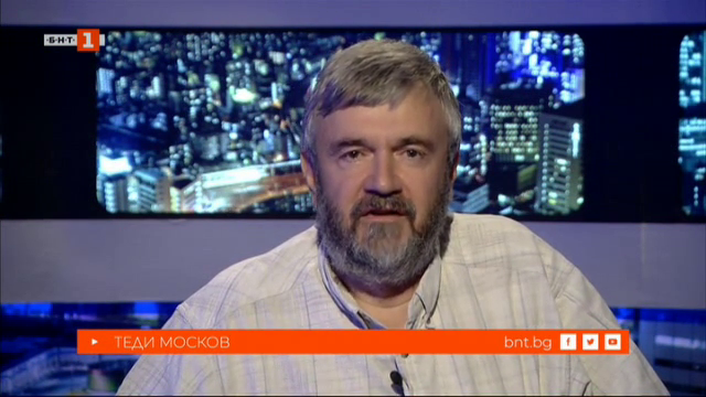 Теди Москов - гост в БНТ на 60