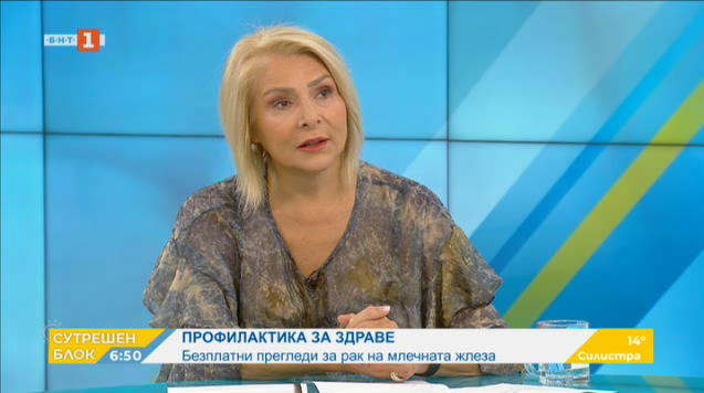 Д-р Гергана Коларова: Заболяването рак на гърдата се подмладява