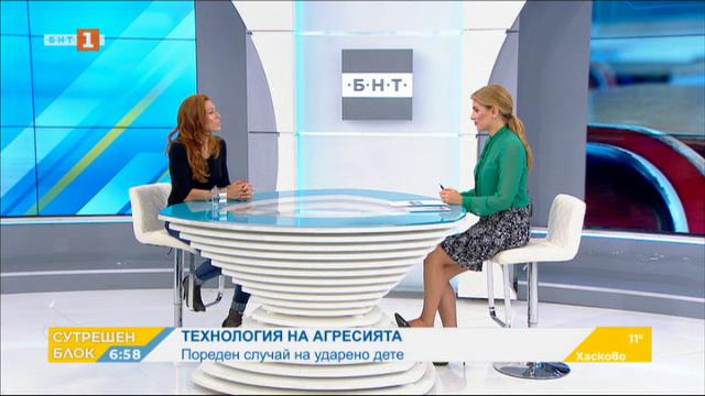 Технология на агресията - коментар на психолога Ина Антонова