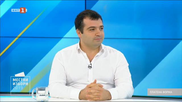 Местни избори 2019: Защо Константин Бачийски иска да е кмет на Бургас