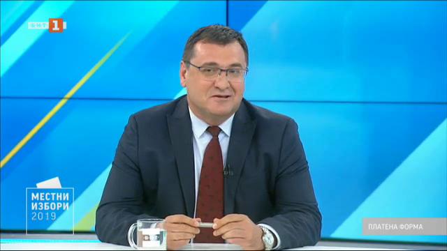 Местни избори 2019: Защо Славчо Атанасов иска да е кмет на Пловдив