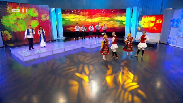 Млади фолклорни дарования в Иде нашенската музика