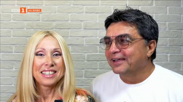 Кристина Димитрова и Искрен Пецов с обща песен
