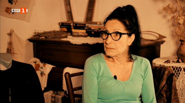 Ганка Димитрова, която е превърнала къщата си в своеобразен етнографски музей