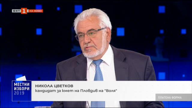 Местните избори и идеите за промяна: Никола Цветков, Воля
