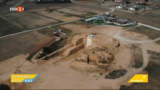 Археолози разкриха могила край село Маноле Малтепе