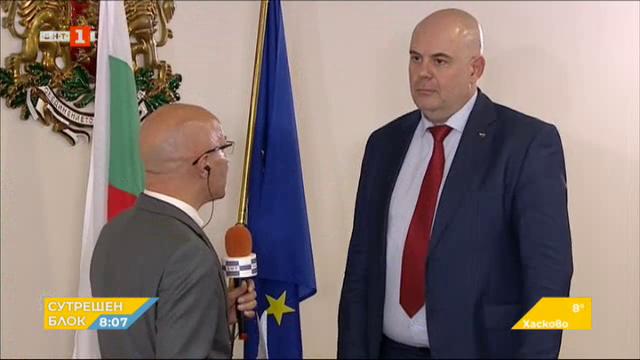 Избраният от ВСС нов главен прокурор Иван Гешев пред БНТ