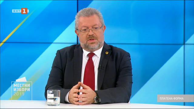 Местни избори 2019: Защо Николай Радев иска да е кмет на Пловдив