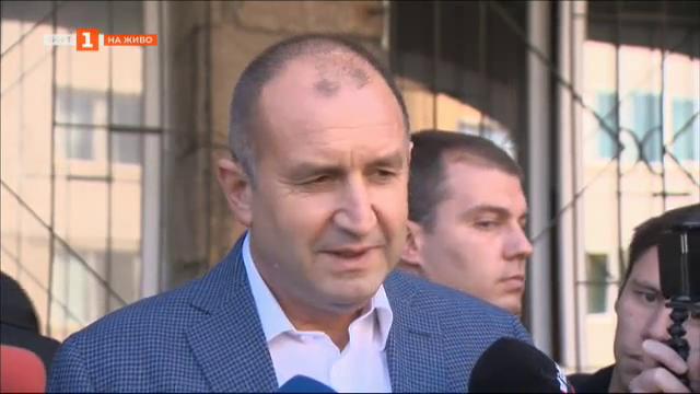 Президентът Румен Радев даде гласа си в местните избори за София
