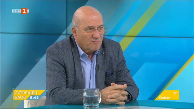 Държавата и клубовете срещу футболното хулиганство - говори ген. Васил Василев
