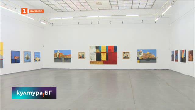 Изложба на плевенския художник Иван Велчев – Йово в галерия Райко Алексиев