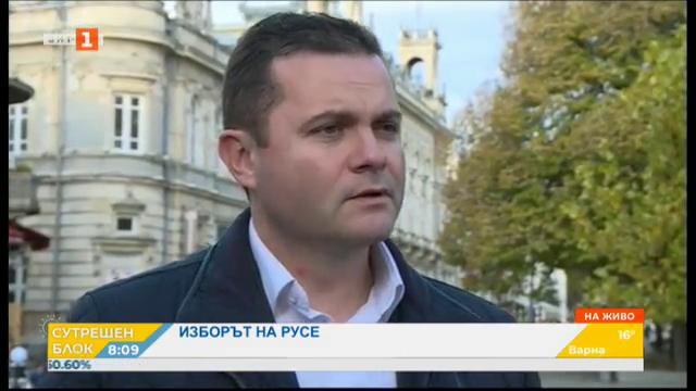 Изборът на Русе - говори новоизбраният кмет Пенчо Милков