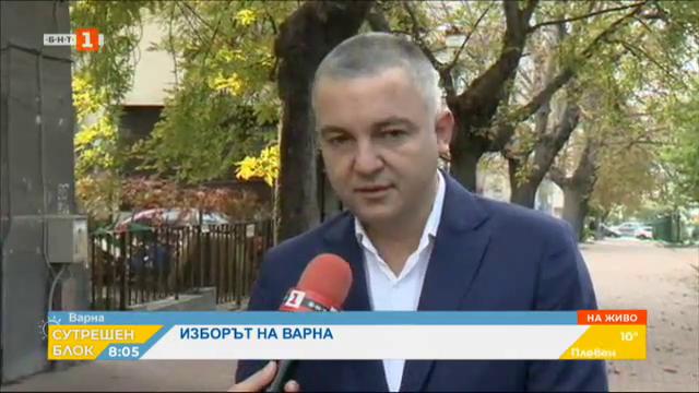 Изборът на Варна - новият стар кмет Иван Портних