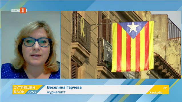 Веселина Гарчева: Бъдещето на Испания изглежда сложно