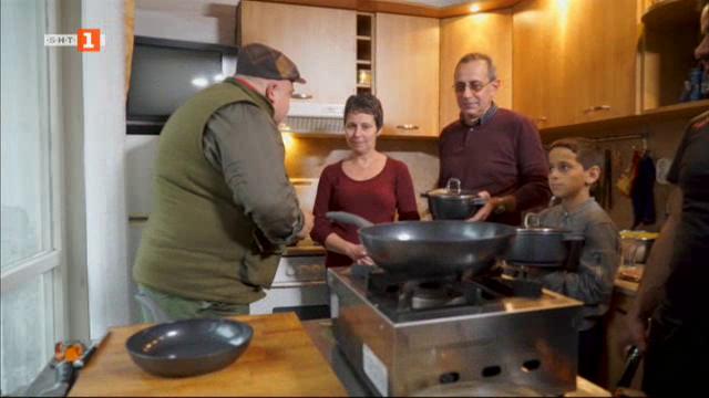Бързо, лесно, вкусно: на гости у Бистра Петкова и нейната фамилия
