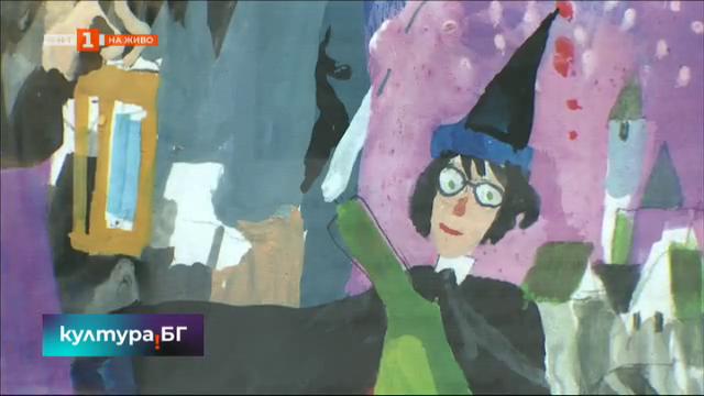 Поредицата за Хари Потър с илюстрации на Любен Зидаров