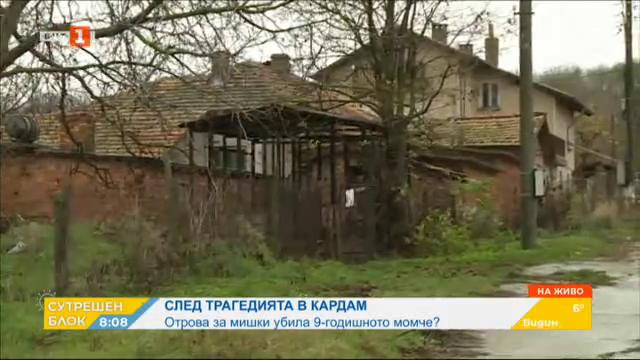 След трагедията в Кардам - отрова за мишки убила 9-годишното момче?