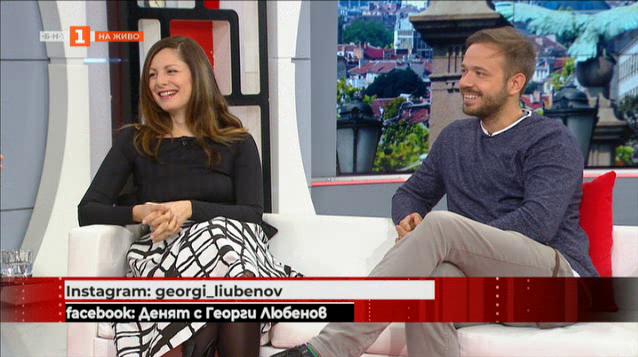 Артистичното семейство Яна Титова и Алек Алексиев - щастие и нов филм