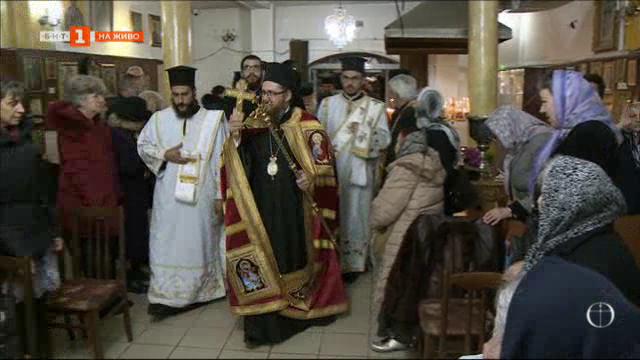 Храмовият празник на църквата Св. Андрей Първозвани в София