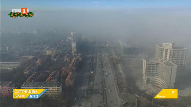 Въздухът в София е замърсен в почти всички квартали