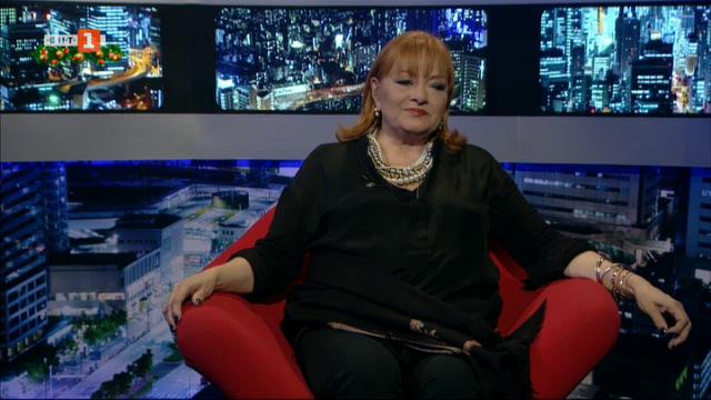 Богдана Карадочева гостува в БНТ на 60