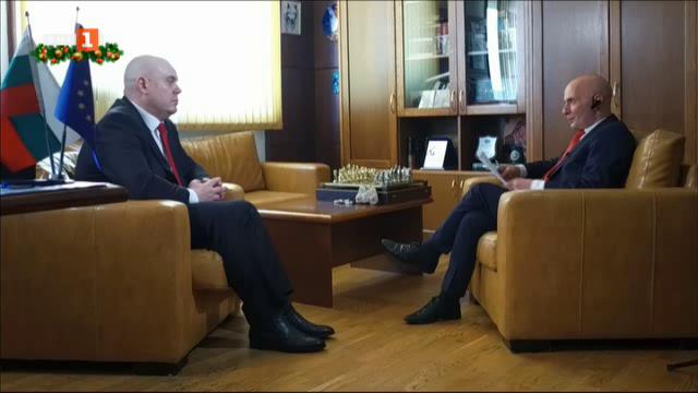 Първо телевизионно интервю на новия главен прокурор Иван Гешев
