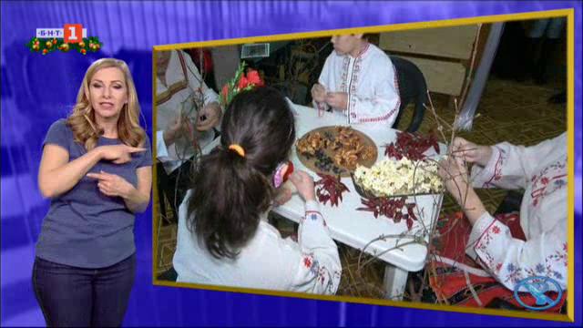 Деца от СУУУС в Търговище изработват дрянови суровачки