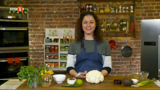 Карфиол на фурна и печена сочна патица за новогодишната трапеза