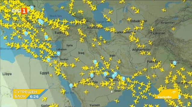 Авиокомпании спират полетите до Иран и Ирак