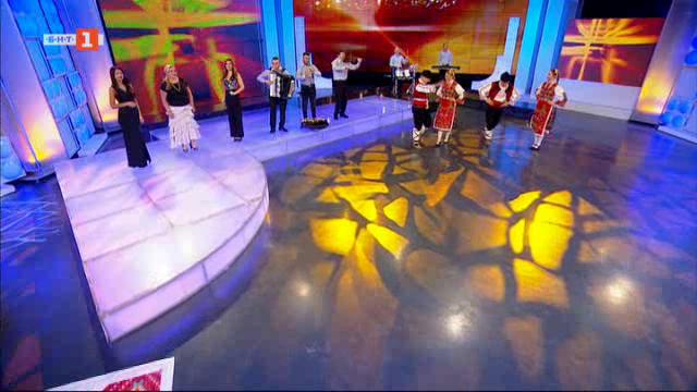 Оркестър Орфей, Дъбенската фолклорна група и танцов ансамбъл Розова долина